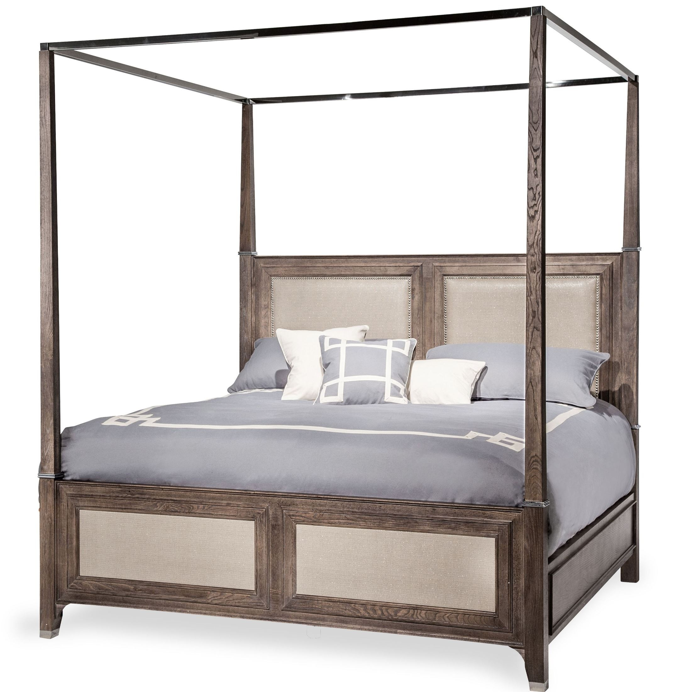 Biscayne West Haze Cal King Canopy Bed Ckcp5 200