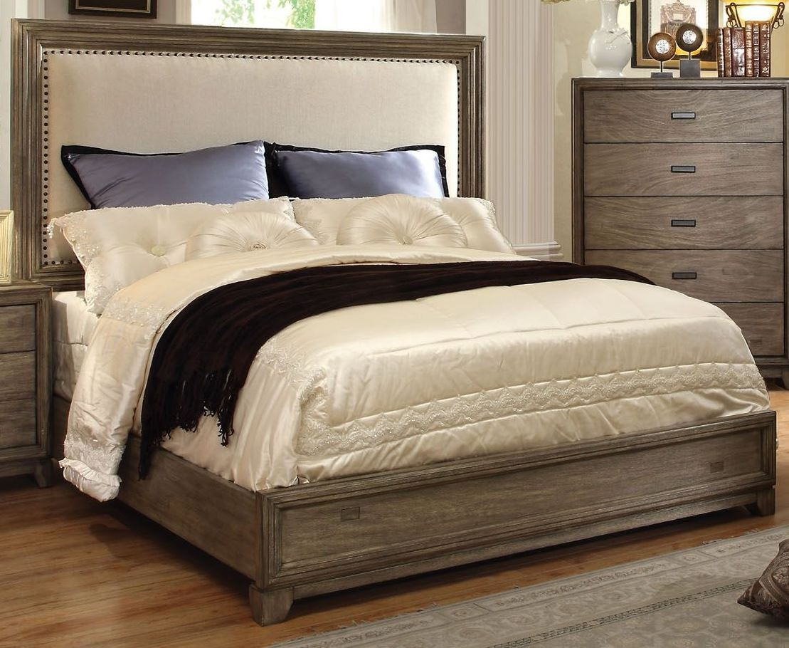 Antler Natural Ash Cal King Bed From Furniture Of America