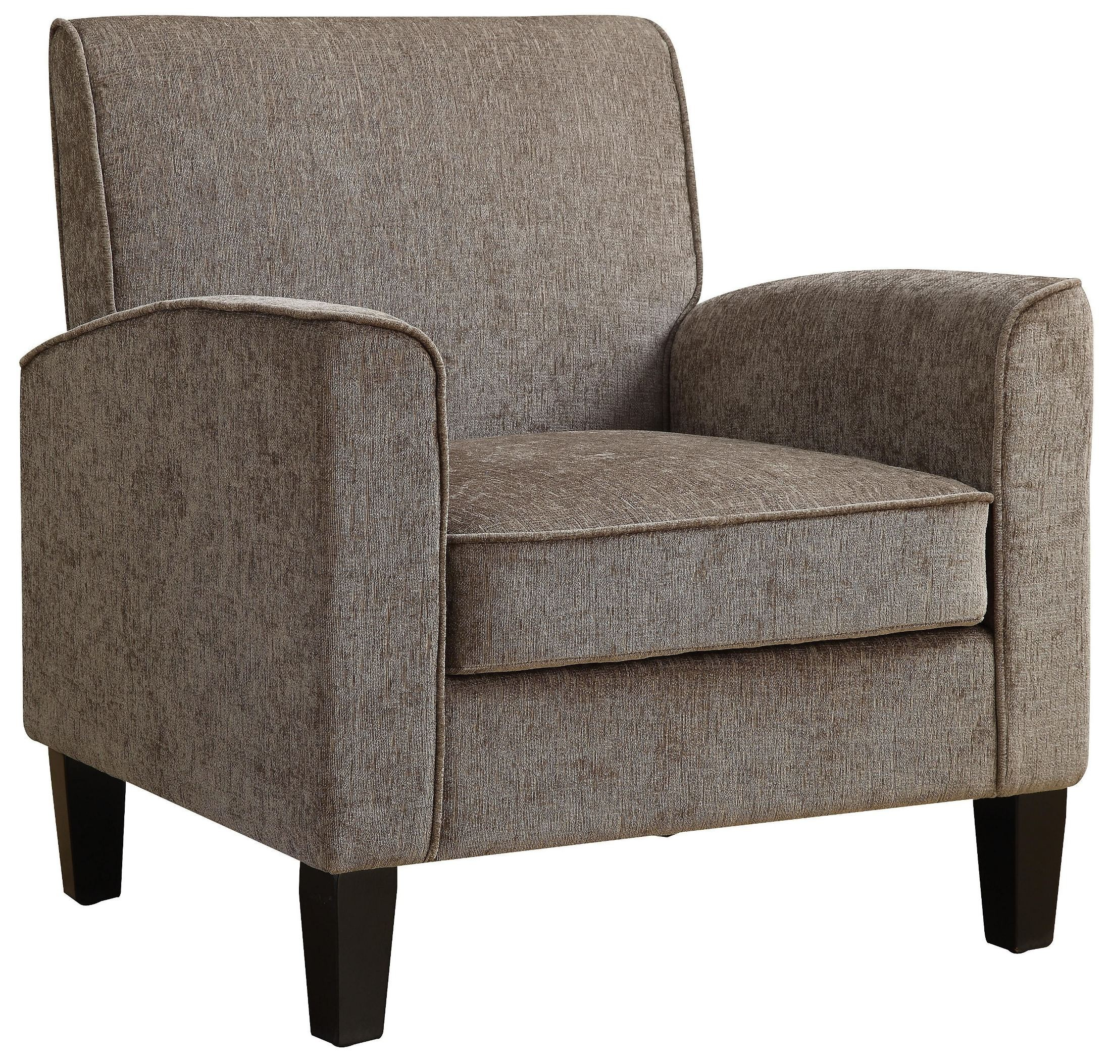 Gray Upholstered Accent Chair From Pulaski