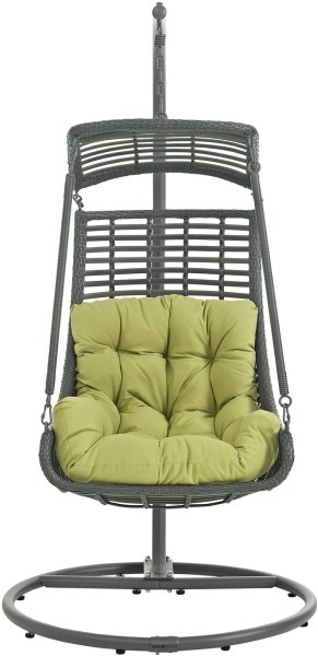 outdoor patio swing chair with stand Jungle Peridot Outdoor Patio Swing Chair With Stand, EEI