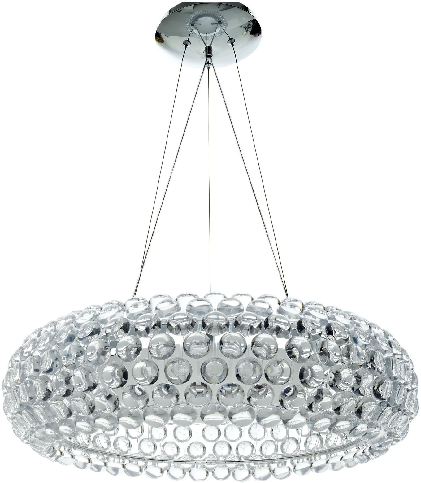Acrylic Crystal Halo Chandelier From Renegade Eei 669