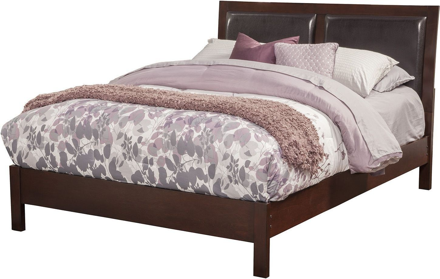 Costa Mesa Cherry King Platform Bed From Alpine