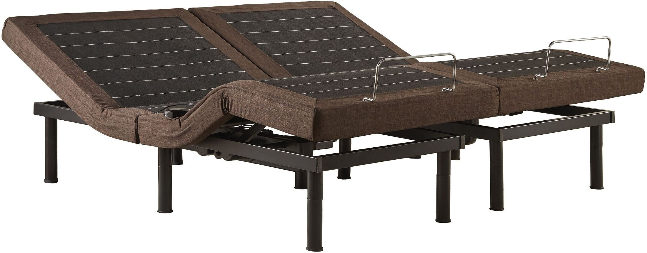 Split King Adjustable Metal Bed Frame With Bluetooth And