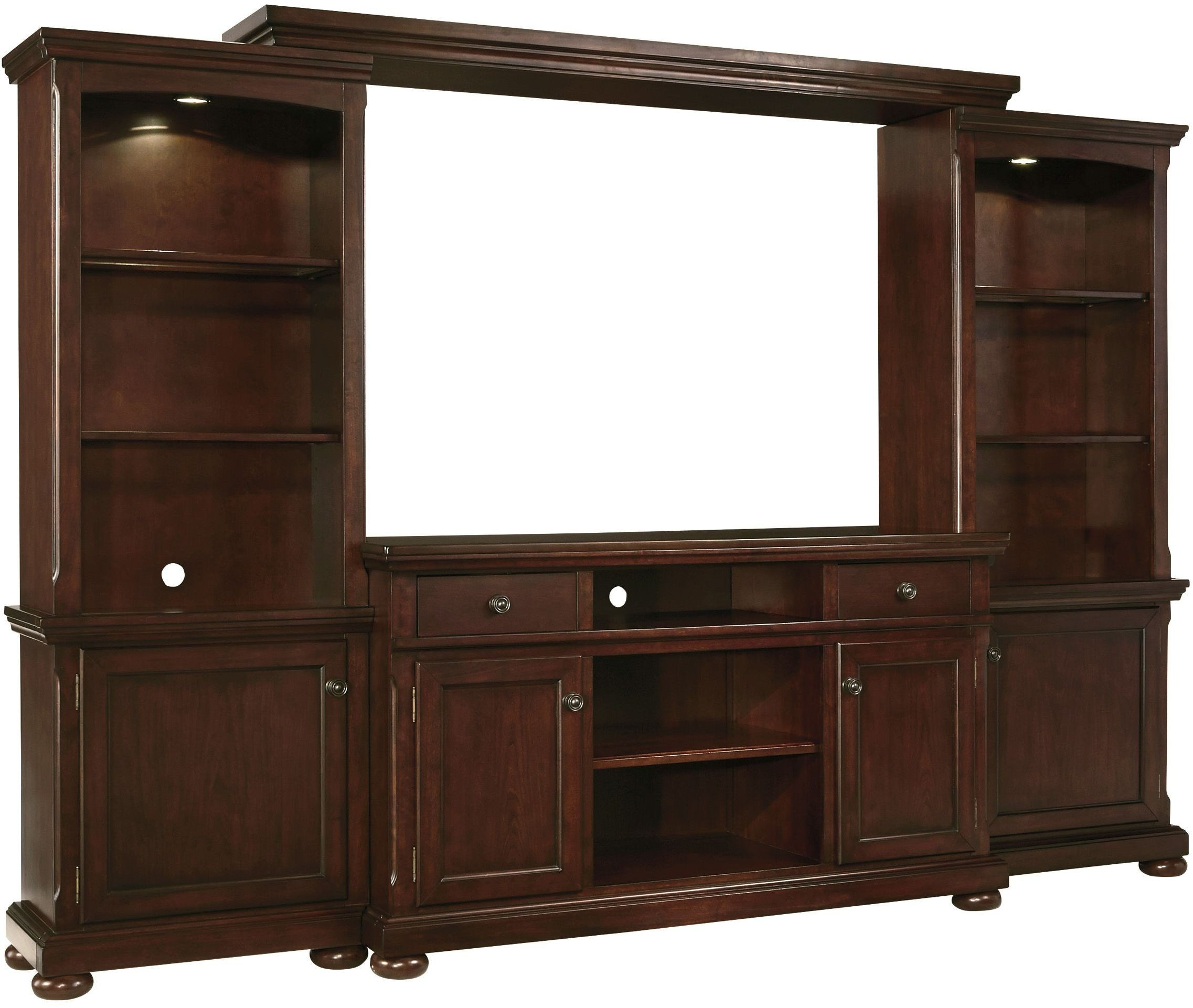 Porter Large Entertainment Wall Unit From Ashley W697 132
