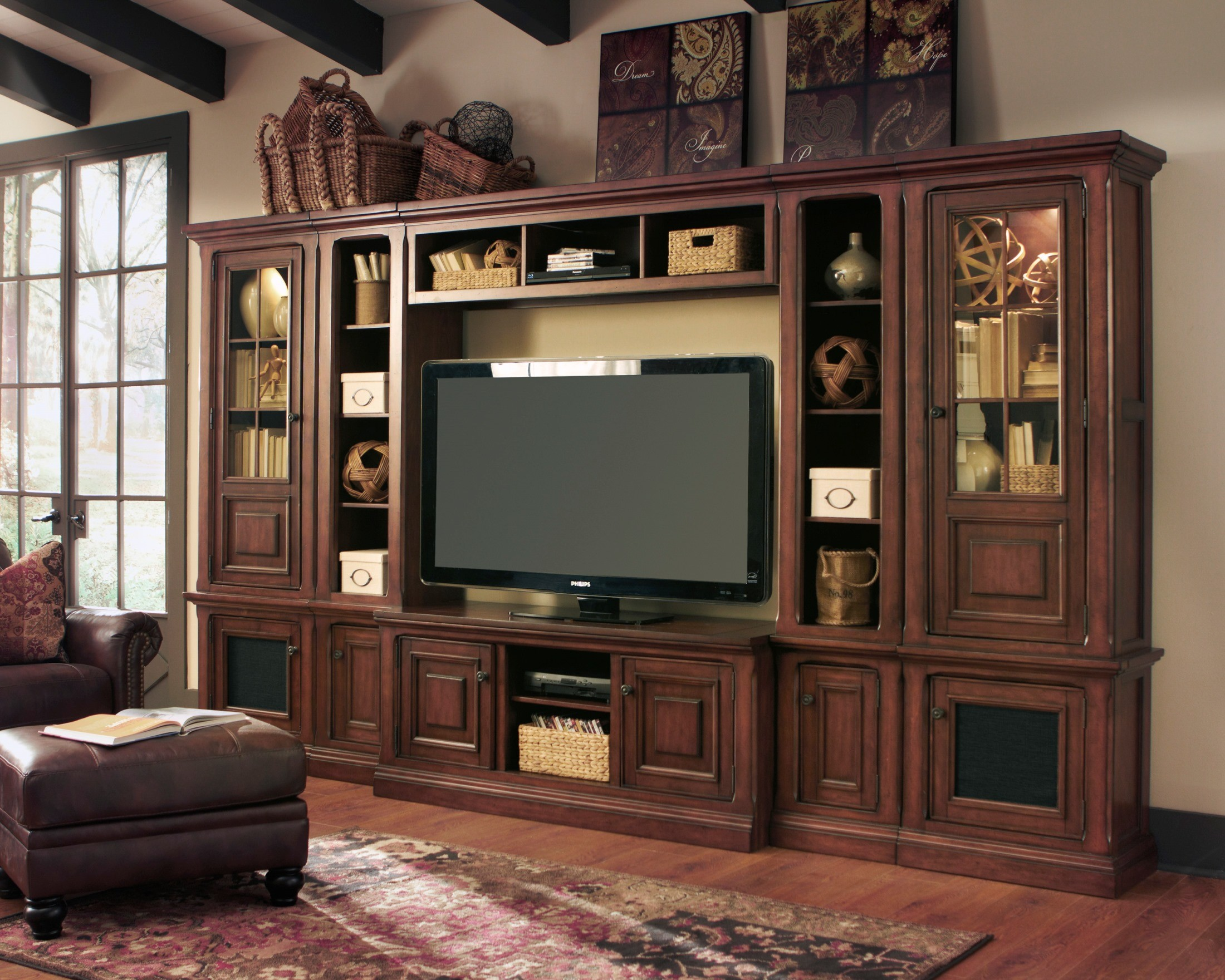 Gaylon Entertainment Large Wall Unit From Ashley Coleman