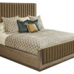 Woodwright Champagne Mulholland King Upholstered Panel Bed From Art Furnitureetc Com 253146 2325