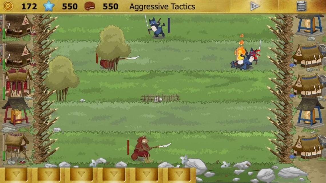 Ninja Cats vs Samurai Dogs - Đánh Giá Game