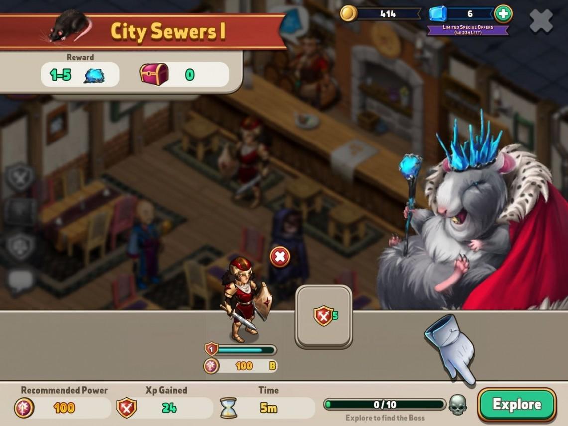 Shop Heroes – Đánh Giá Game