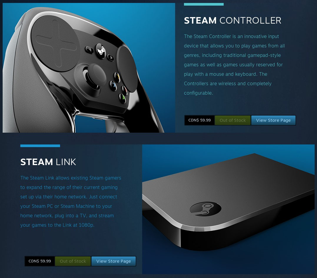 Steam Controller và Steam Link nói không với máy Mac