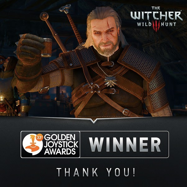 "The Witcher 3: Wild Hunt ""giật hết giải"" tại Golden Joysticks Award 2015"