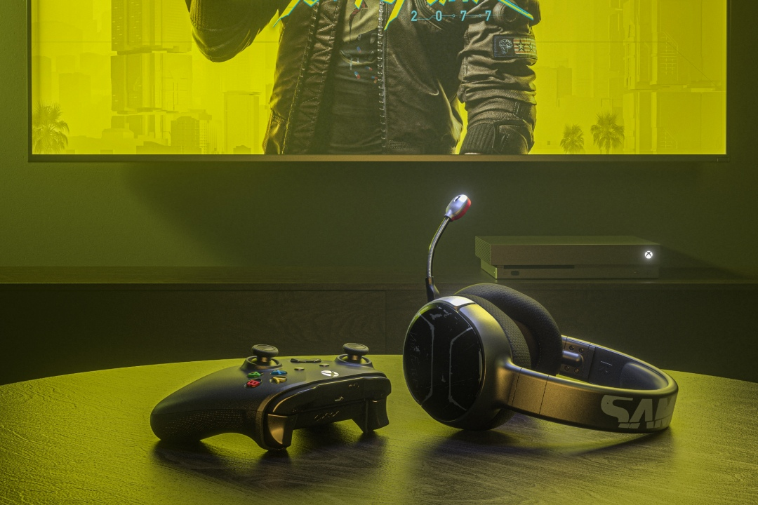 SteelSeries Arctis 1 Wireless for Xbox - Johnny Silverhand Edition