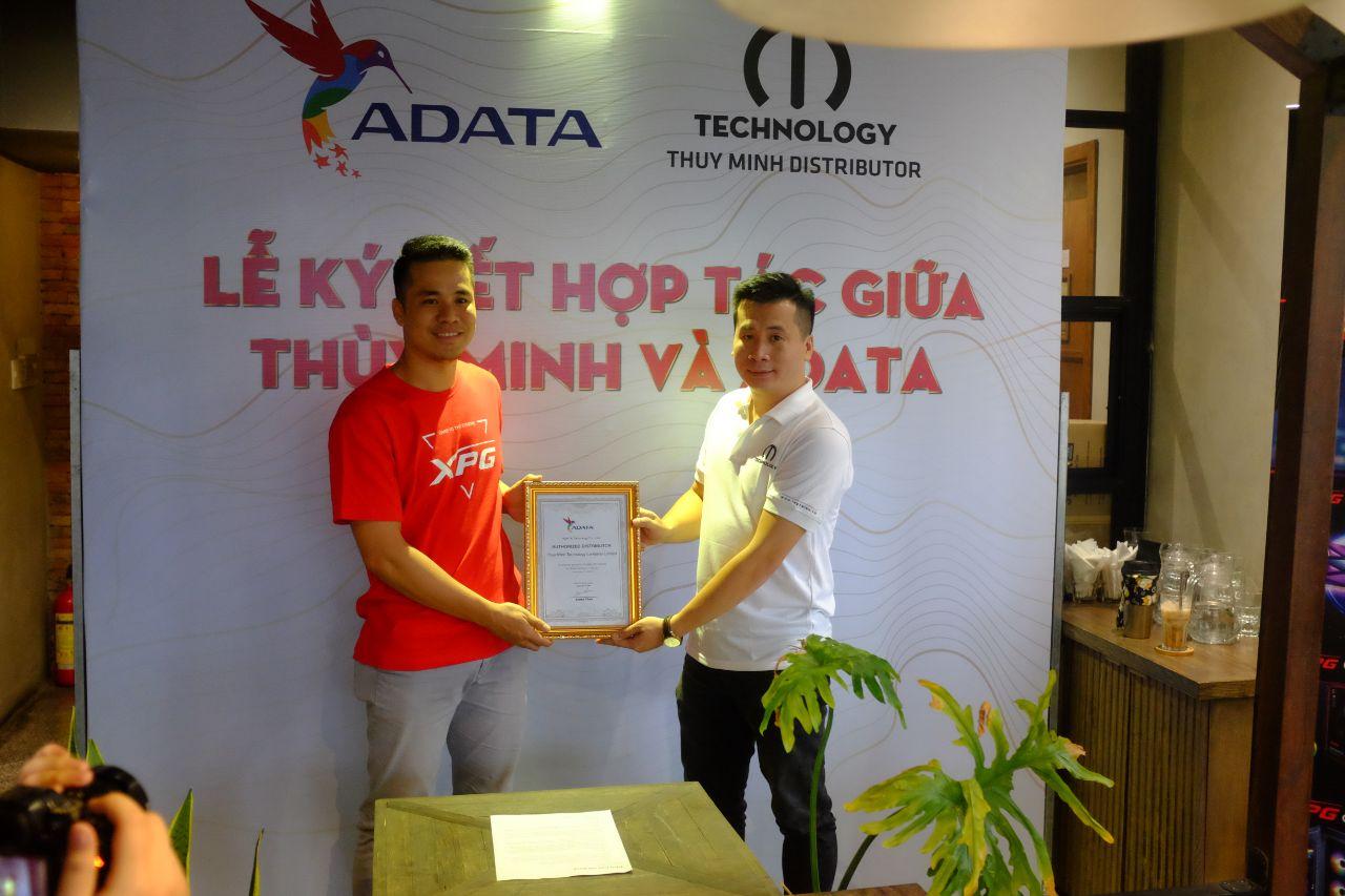 Thùy Minh Technology trở thành nhà phân phối chính thức cho ADATA