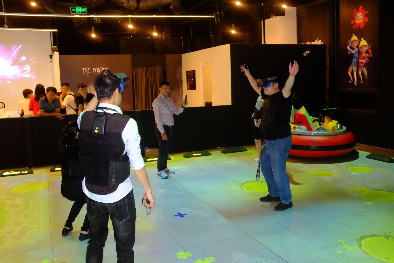 Giải đấu trên nền Arcade VR đầu tiên tại Việt Nam kết thúc tốt đẹp