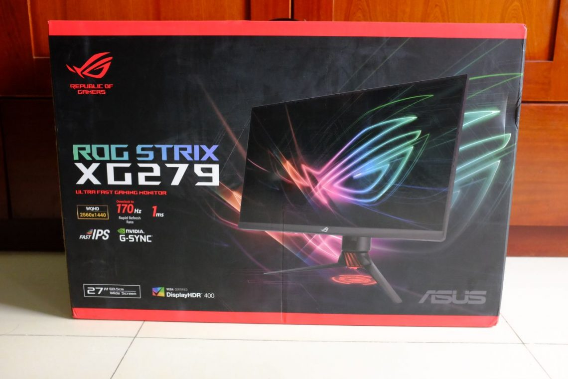 ASUS Strix XG279Q Ultrafast Gaming Monitor - Đánh Giá Gaming Gear