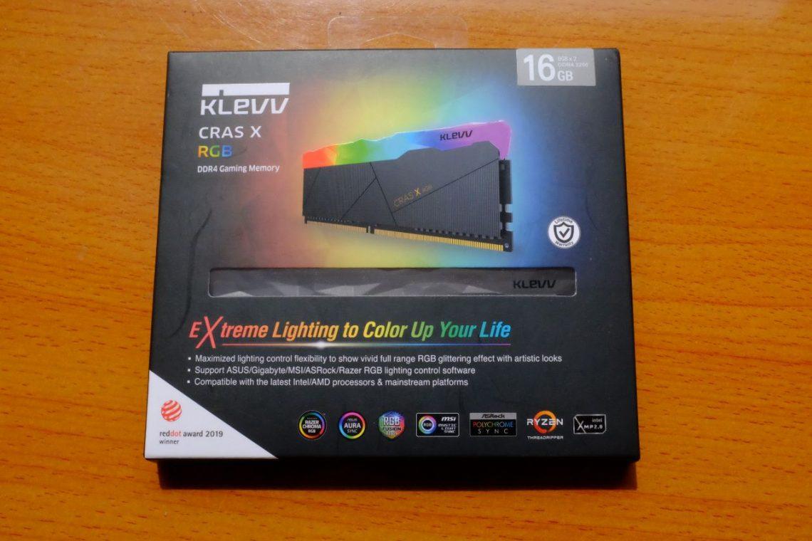 KLEVV CRAS X RGB DDR4 3200MHz - Đánh Giá Nhanh