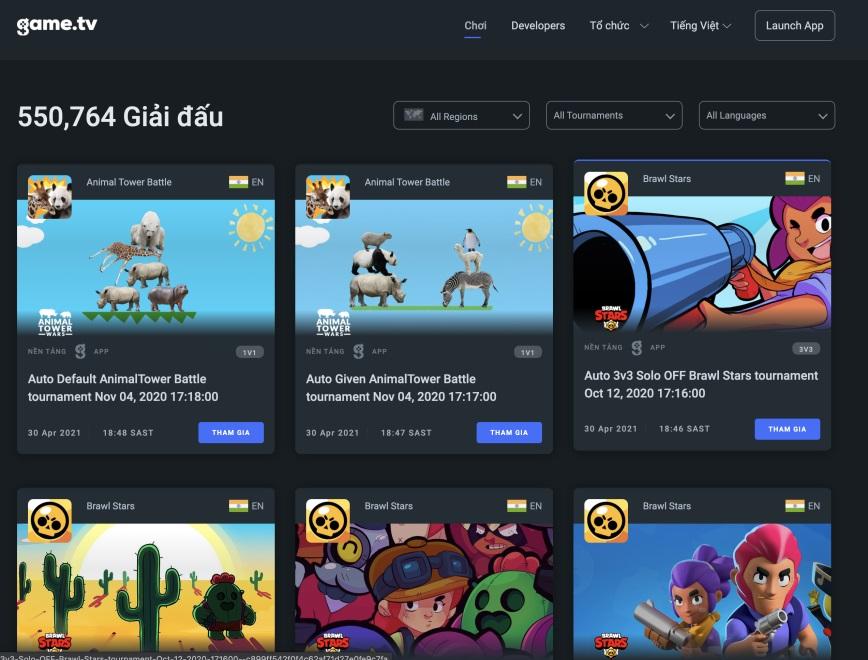 Game.tv trở thành nền tảng thể thao điện tử di động hàng đầu