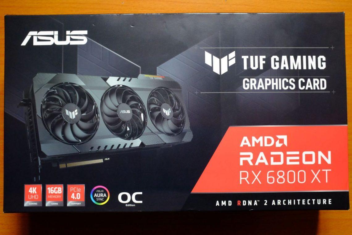 ASUS TUF GAMING RX 6800 XT - Đánh Giá Gaming Gear