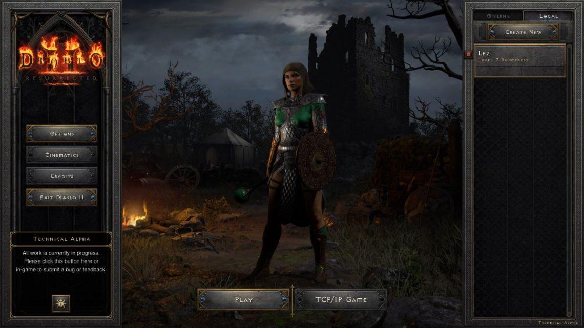 Chơi thử Diablo II
