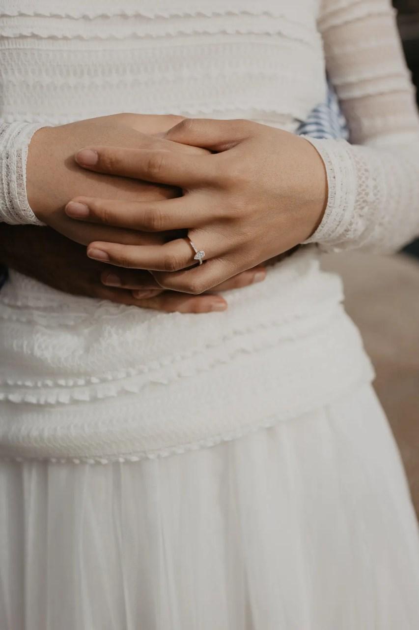 Engagement ring Paris