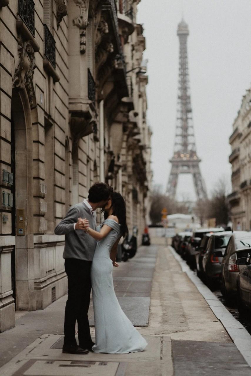 Fine art Couple Dancing Paris