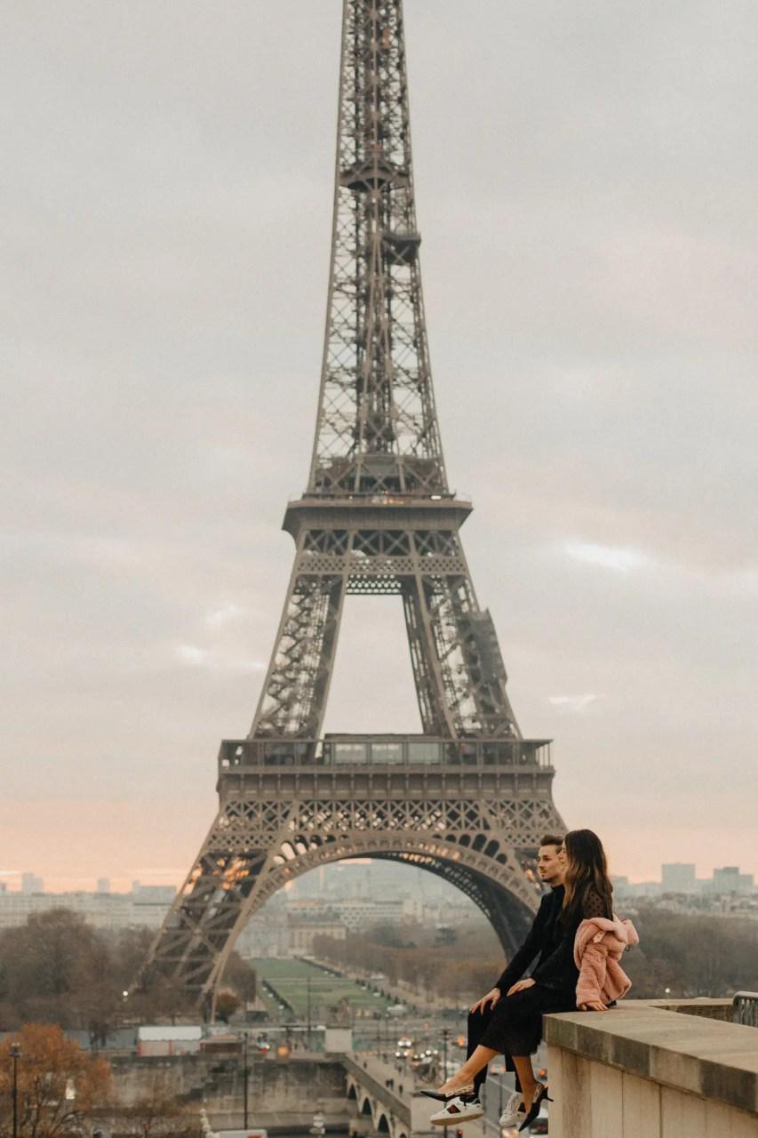 Instagrammers Paris Eiffel tower trocadero photography