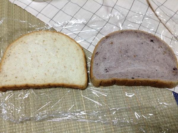 円熟全粒粉と円熟五穀の比較