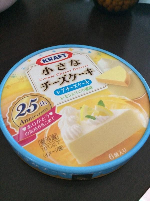 クラフト 小さなチーズケーキ レアチーズケーキ