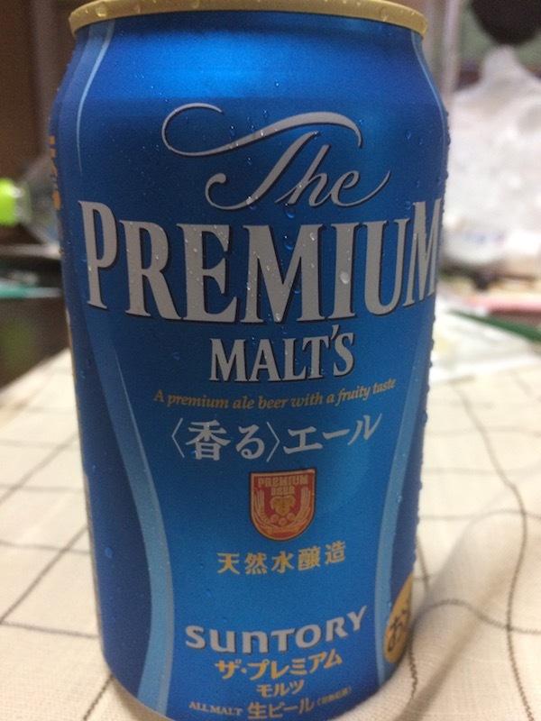 プレミアムモルツ 香るエール 350ml 210円