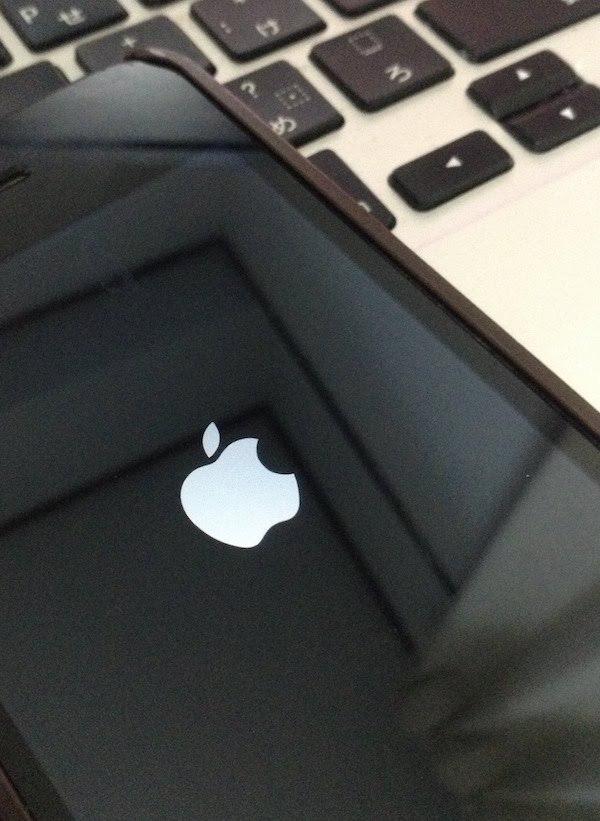 iOS11アップデート後に再起動繰り返すリンゴループになるも解決した