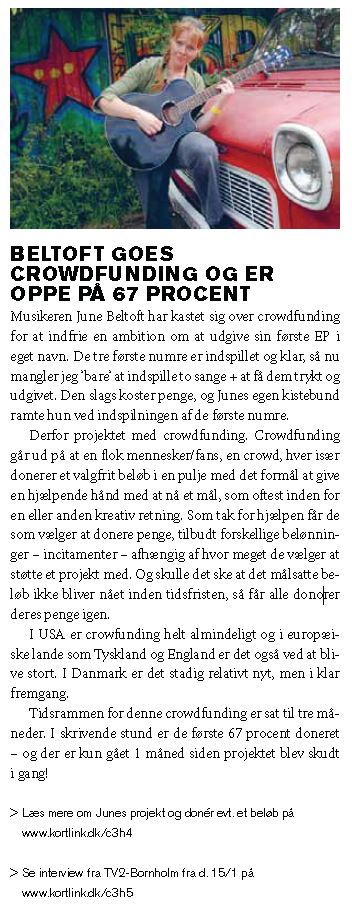 Svanekebladet nr57 feb2013 crowdfunding