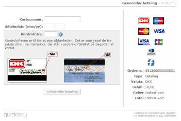 internet-betaling med kort