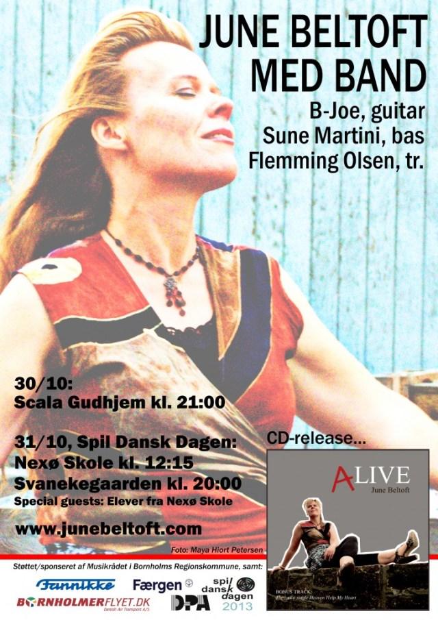 June Beltoft - SpilDansk-plakat 2013