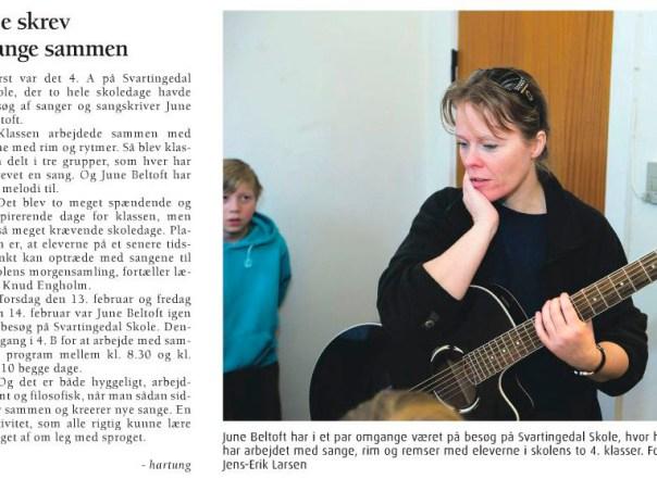 June Beltoft Huskunstner - Bornholms Tidende 15022014 #1