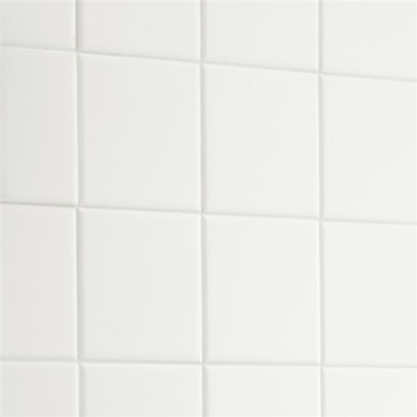 american olean 4 in x 4 in starting line 1 white gloss ceramic wall tile