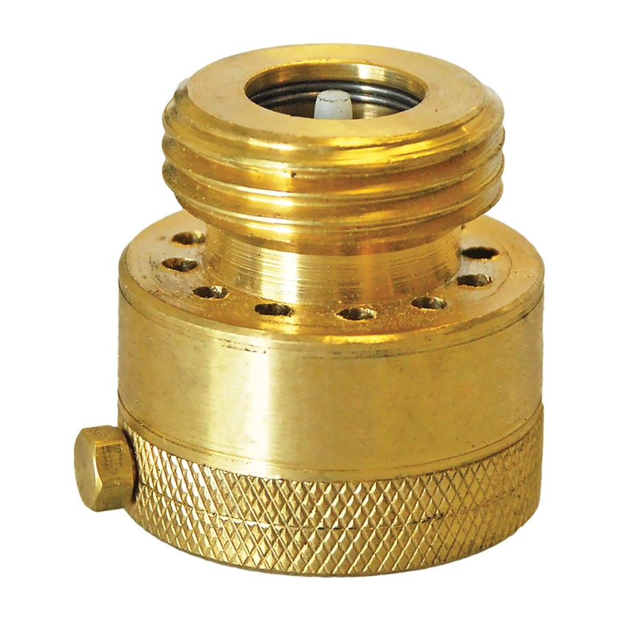 3 4 in dia brass male in line hose connection vacuum breaker