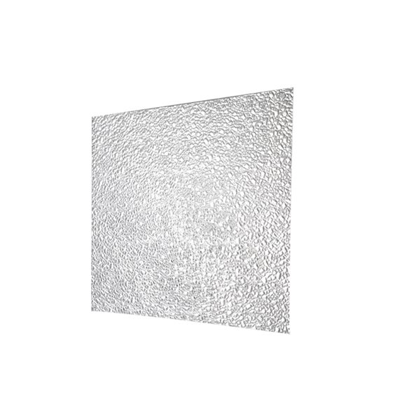 duralens duralens 1a00703a 2ft x 4ft prismatic clear acrylic square light panel