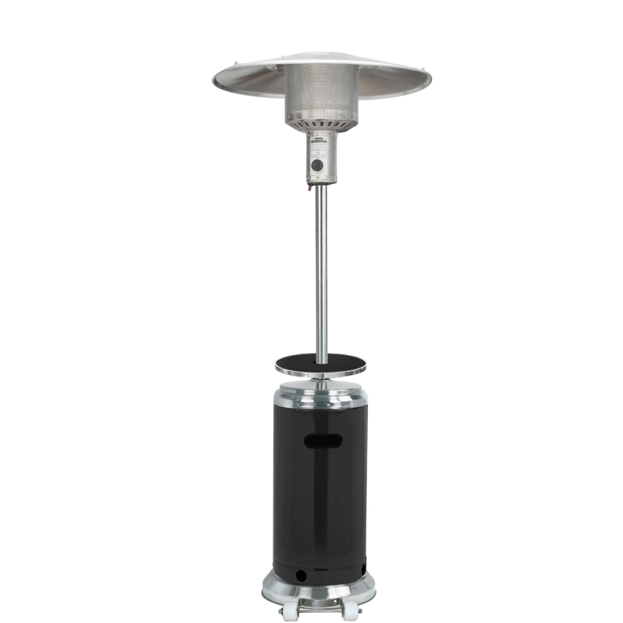 style selections propane gas patio heater 48 000 btu 87 in