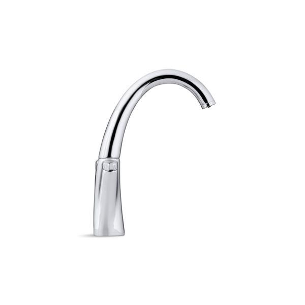 kohler carafe filtered water kitchen sink faucet vibrant stainless