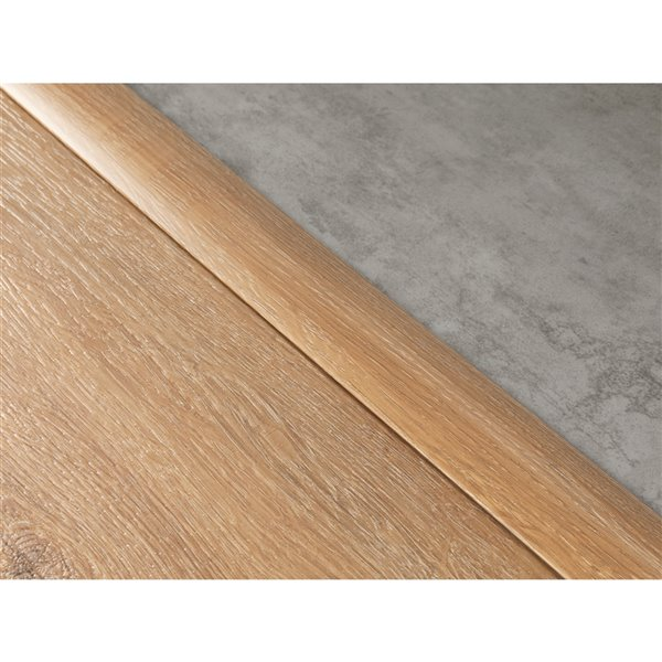 newage products flooring t molding transition strip 46 in white oak