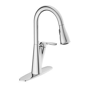 moen harlon one handle pull down kitchen faucet