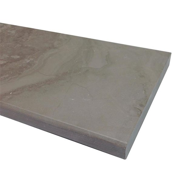 american olean 76 in x 6 in chestnut gray marble threshold