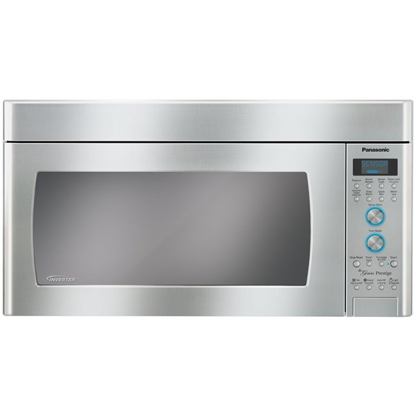 panasonic 30 in 2 cu ft over the range microwave stainless steel