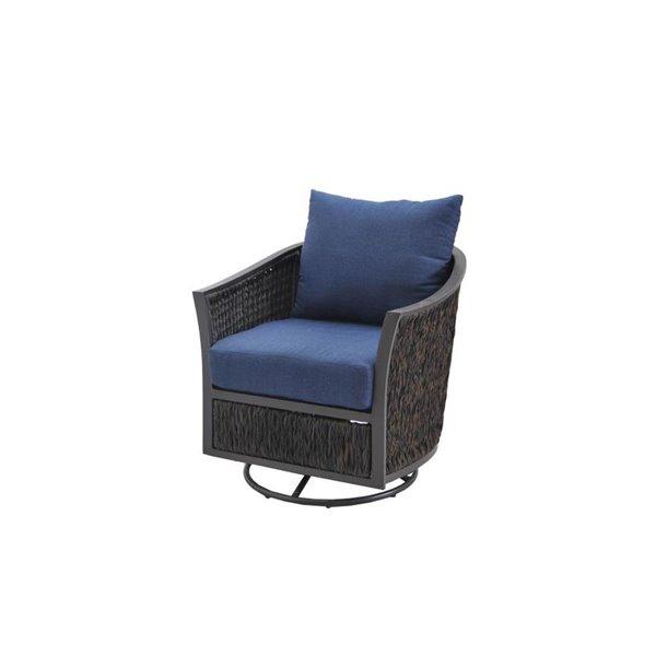 allen roth ellisview patio swivel glider chair set of 2