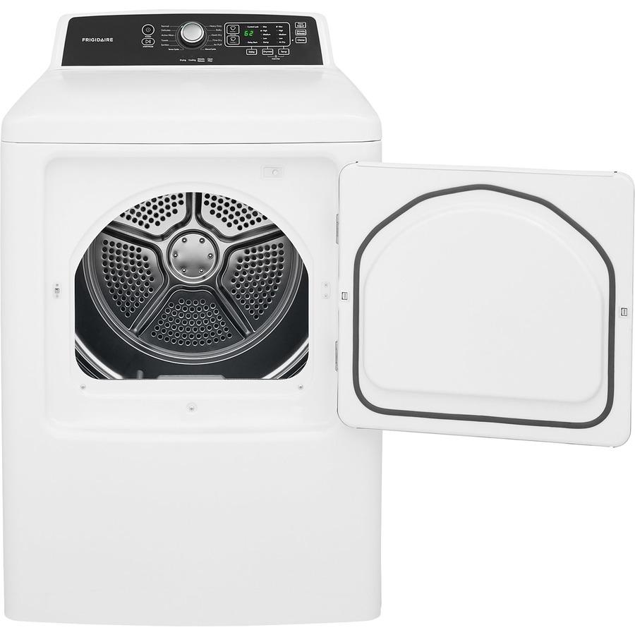 frigidaire 6 7 cu ft electric dryer white