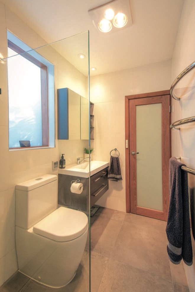 Creating the illusion of space in a small bathroom ... on Space Bathroom  id=86623