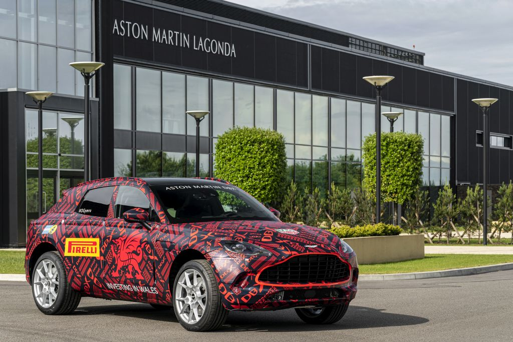 Aston Martin Starts Making Dbx Prototypes From Welsh Plant