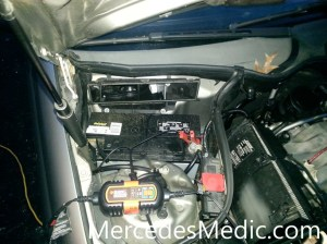 How to properly charge a dead car battery  Mercedes Medic