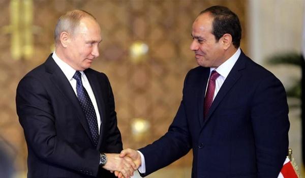 السيسي وبوتين يتفقان على عودة كاملة لرحلات الطيران بين مدن مصر وروسيا