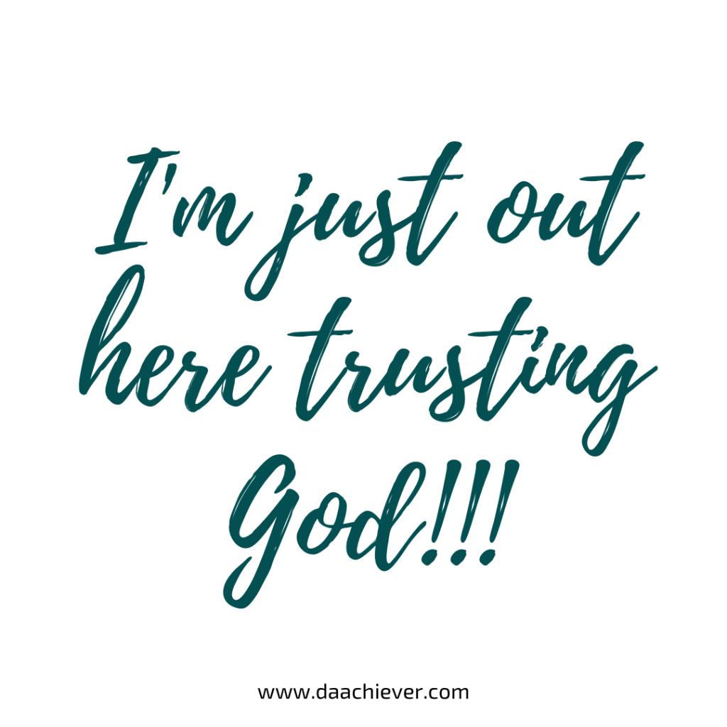 Trusting God 1