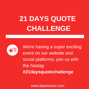 YOUR BEST QUOTES FOR 21 DAYS